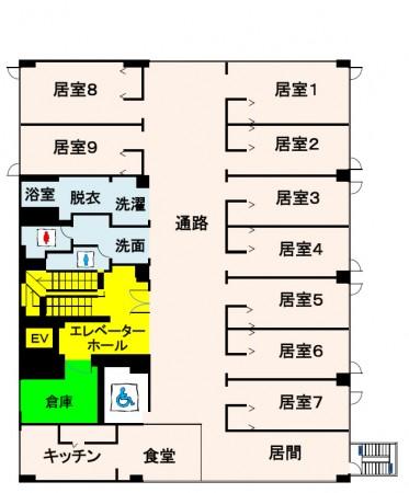 館内図2F・3F